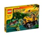 la poursuite du vélociraptor Lego