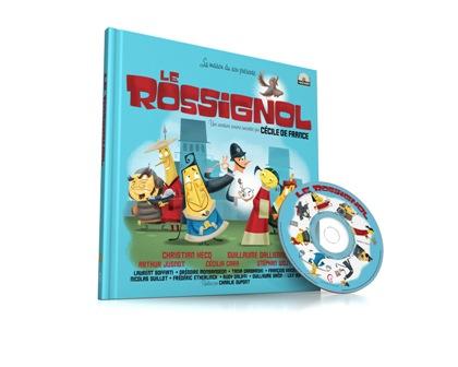 Le Rossignol_livre+CD