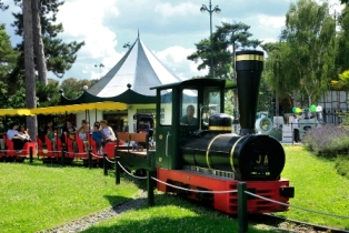 Le Petit Train - Jardin d'acclimatation. F.Grimaud