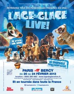 L'Age de Glace Live!