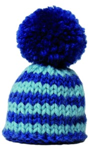 Bonnet bleu detoure