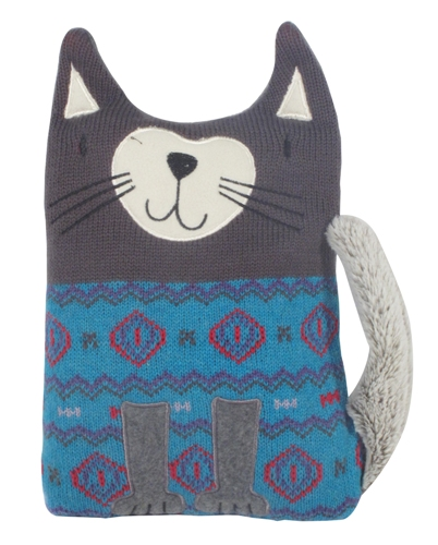 Moi aussi je veux des cadeaux - Coussin chauffant chat ...