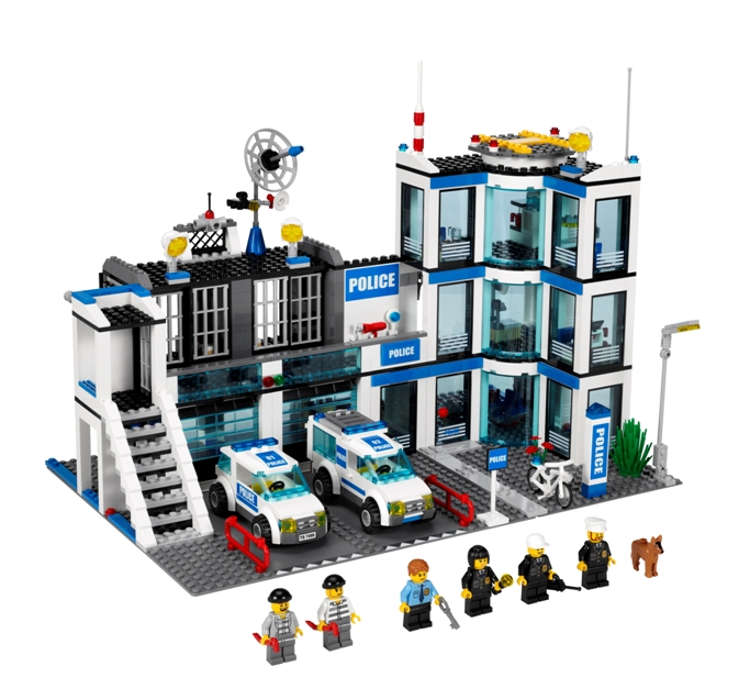 commissariat de police lego city mamanautop. Black Bedroom Furniture Sets. Home Design Ideas
