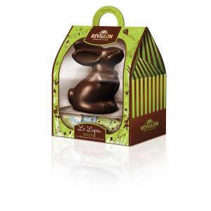 Révillon Chocolatier lapin noir pack