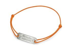 1- Bracelet cordon et argent rhodié- 16,00 euros manege à bijoux leclerc