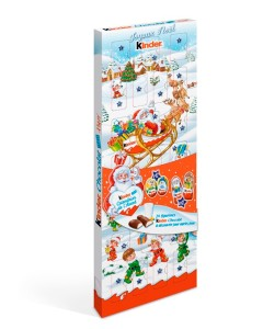 calendrier  de l'avent happy Kinder