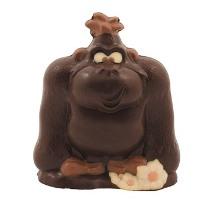 Gorille en chocolat de Neuville