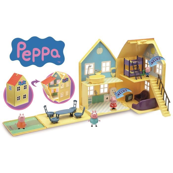 la maison de luxe peppa pig de giochi preziosi mamanautop. Black Bedroom Furniture Sets. Home Design Ideas
