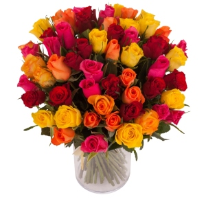 Bouquet de Roses labellisées Max Havelaar - Magasins U