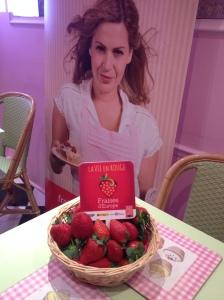 fraises affiche