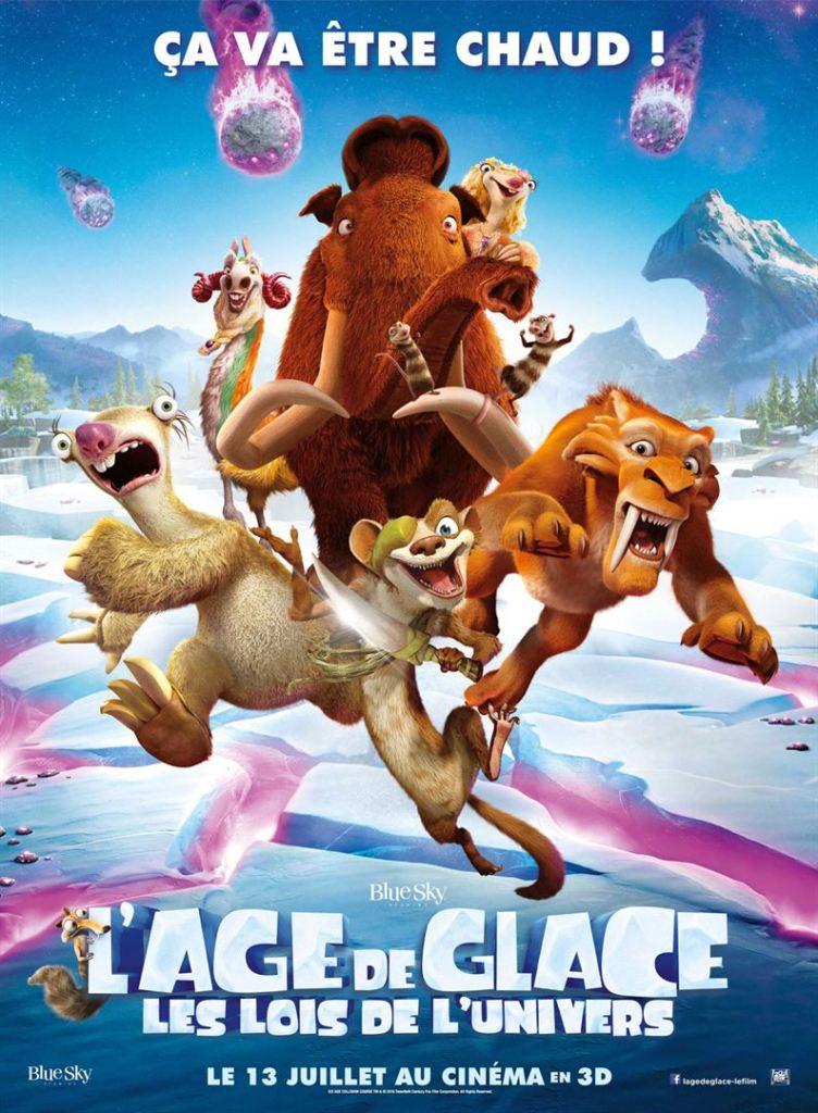 Affiche âge de glace 5