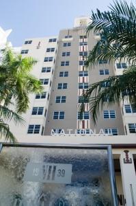 national Hôtel Entrée