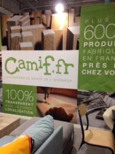 Camif présente sa maison meublée 100 % made in France