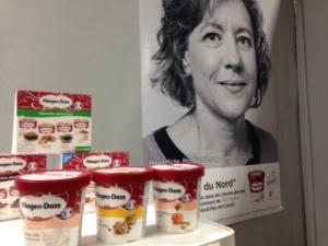 saviez-vous que les glaces Haagen Daz vendues en France étaient fabriqués chez nous ?