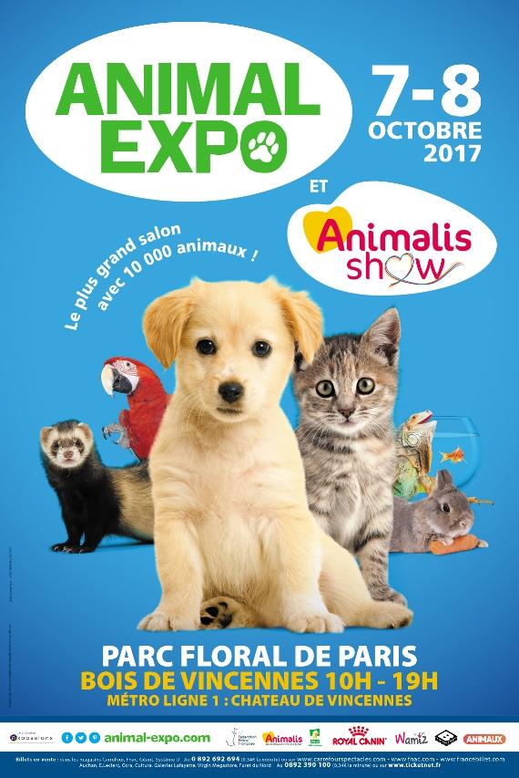 Ce week end nous on va au salon animal expo animalis show for Salon des animaux 2017