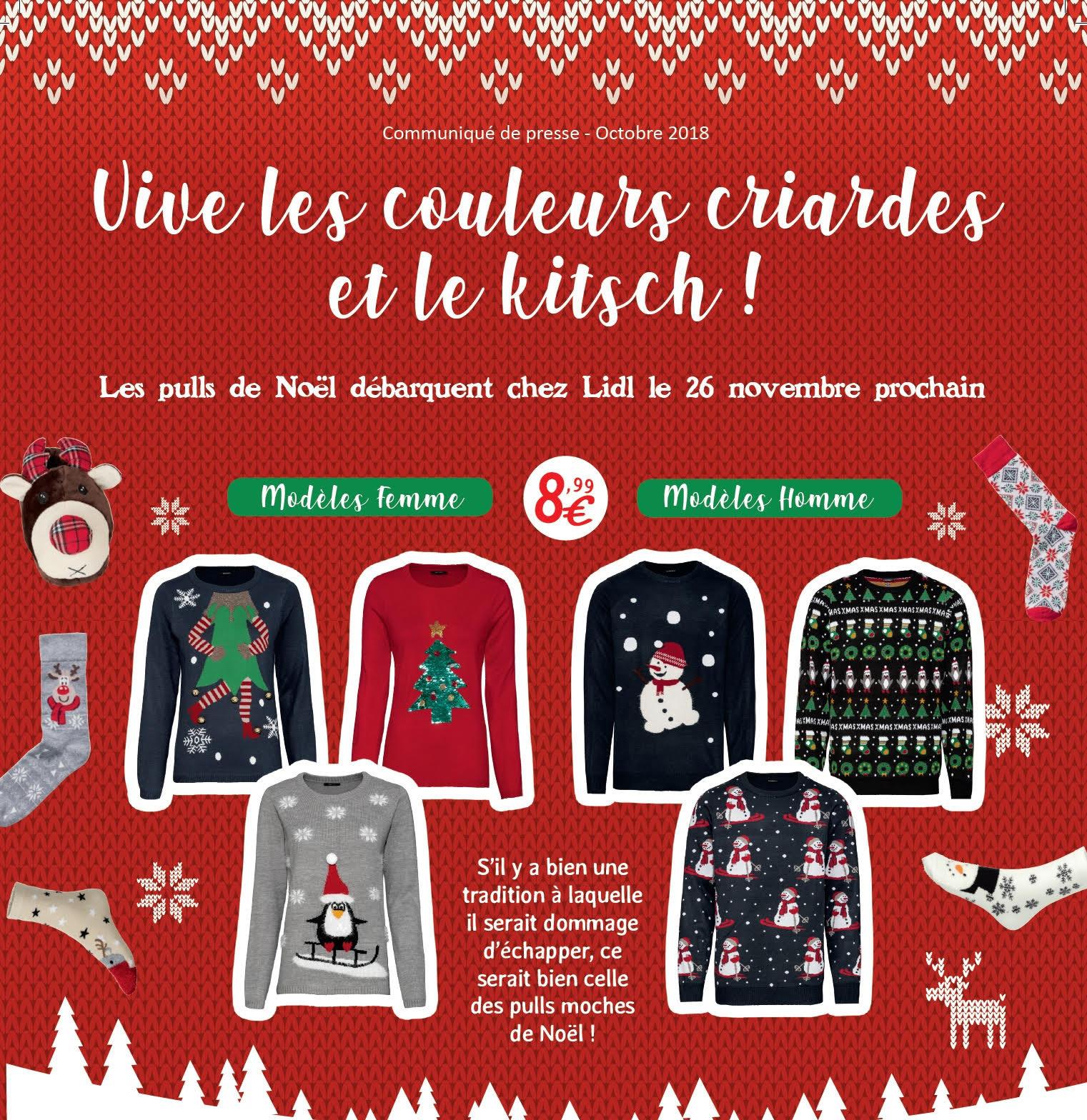 Chez Les LidlMamanautop Noel De Pulls Arrivent v7yIbg6mYf